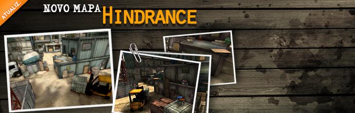 Novo Mapa Hindrance!