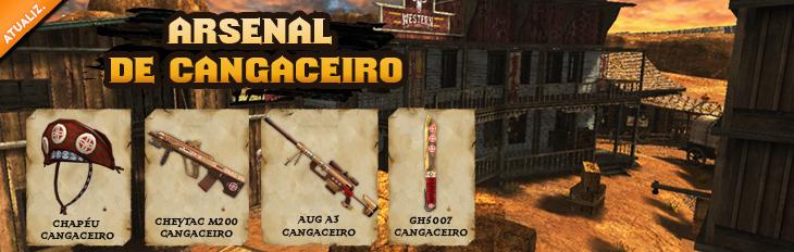 Novos Equipamentos - Cangaceiro!