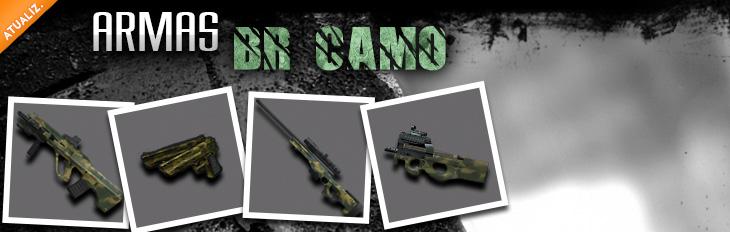 Novas Armas - Linha BR CAMO!