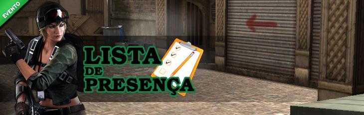 Lista de Presen�a - Rose!