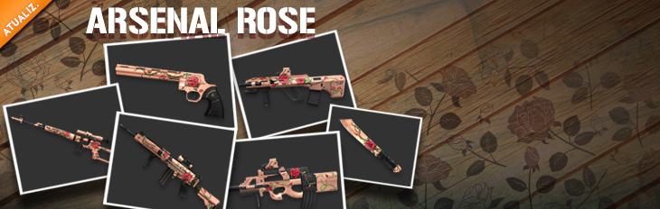 Novas Armas - Arsenal Rose!