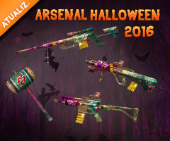Novo Arsenal - Halloween