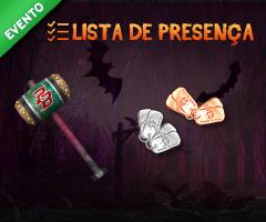 Lista de Presen�a - Halloween